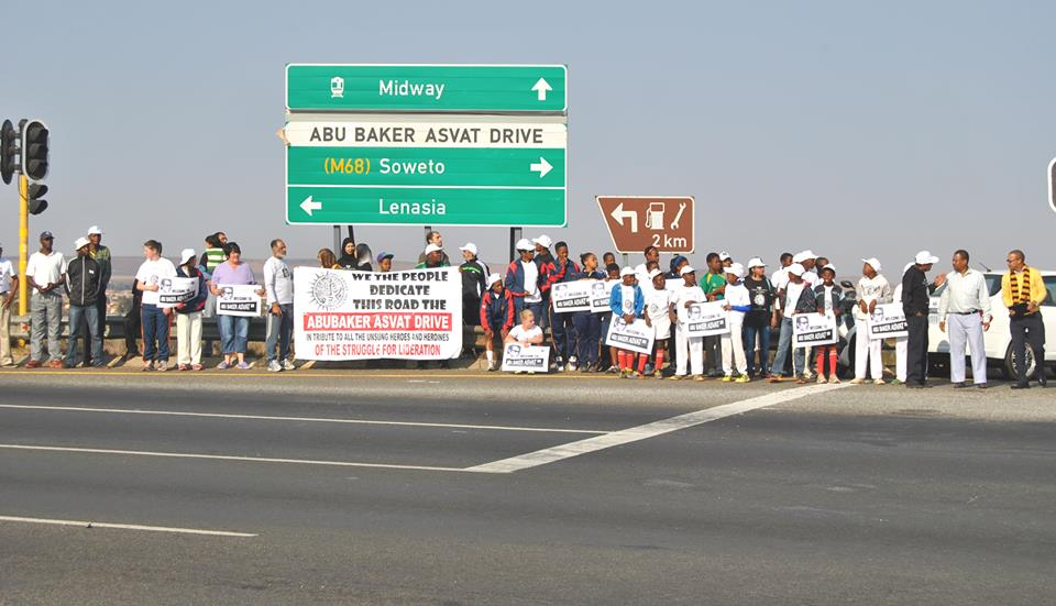 AbuBaker Asvat Drive,Unveiling